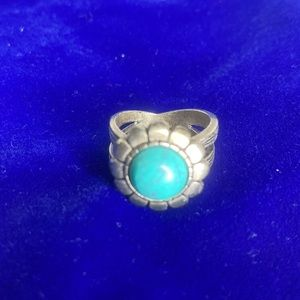 Vintage Premier Designs Sterling Silver Ring with stone center